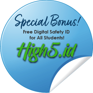 Special Bonus, Free Digital Safety ID for all Students
