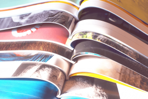 Yearbook Stack